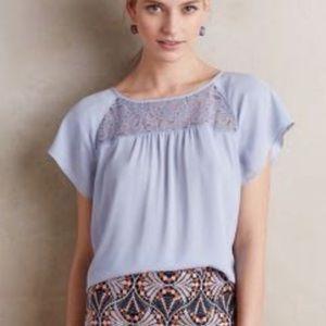Maeve anthro blouse size 2